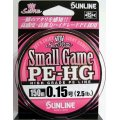(42%引)サンライン スモールゲームPE-HG 150m 0.15号 2.5LB 国産PEライン