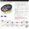 画像3: サンライン ソルティメイト PE エギ ULT HS4 1号 120m 国産PEライン (3)