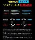 画像6: (25%引) マリア NEW ラピード F160 50g 青物 大物 海外向き 国産 日本製 ソルト シーバス ルアー ミノー ヤマリア ヤマシタ