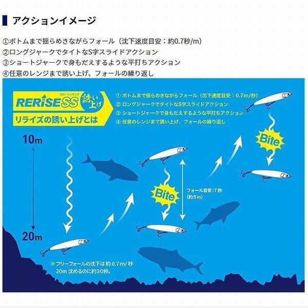 画像5: (25%引) ヤマシタ マリア リライズ SS 130 55g スローシンキング 青物 大物 海外向き シーバス ソルトルアー ミノー ヤマリア YAMARIA YAMASHITA